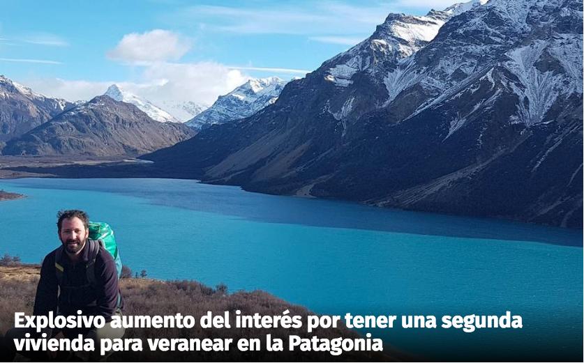 Aescala: Aumento del interés por tener una segunda vivienda en la Patagonia