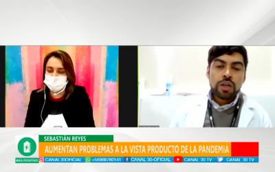 Entrevista a Sebastián Reyes de Ultravisión en Más Positivo